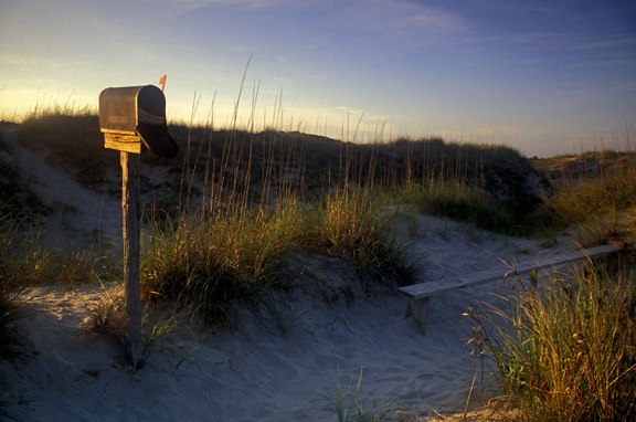 The Kindred Spirit Mailbox on Bird Island
